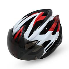 Helmet Pyörä ( Keltainen / Vihreä / Punainen / Vaaleanpunainen / Sininen , EPU(Electro polyurateeni) )-de Naisten koot / Miesten / Unisex