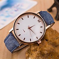 Women's  Fashion  Simplicity Rhinestone Quartz  Fabric Lady Watch Cool Watches Unique Watches