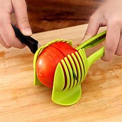 1 db Apple Narancssárga Burgonya Paradicsom Citrom Cutter & Slicer For Növényi Műanyag Kreatív Konyha Gadget Újdonságok