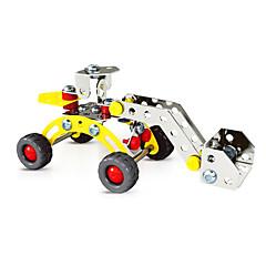 직소 퍼즐 3D퍼즐 / 플레이 차량 빌딩 블록 DIY 장난감 차 78pcs 메탈 화이트 / 핑크 모델 & 조립 장난감