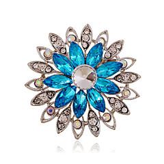 Γυναικεία Ακρυλικό Στρας Κεραμικό απομίμηση διαμαντιών Κράμα Μοντέρνα Βυσσινί Καφέ Μπλε Κοσμήματα Γάμου Πάρτι Καθημερινά