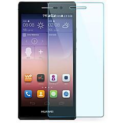 eksplosionssikret præmie hærdet glas filmlærred beskyttende vagt 0,3 mm hærdet membran bue til Huawei p7