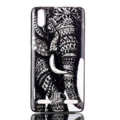 Για Θήκη Lenovo Με σχέδια tok Πίσω Κάλυμμα tok Ελέφαντας Μαλακή TPU Lenovo