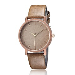 Simple nailed scale tide rose gold dial watch
