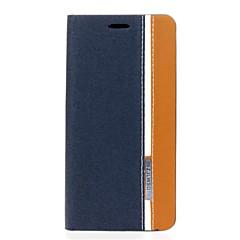 Mert HTC tok Kártyatartó / Állvánnyal / Flip Case Teljes védelem Case Vonalak / hullámok Kemény Műbőr HTC
