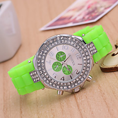 2015 Jelly Silicone Quartz Watches Couple Leisure Male And Female Students Cool Watches Unique Watches