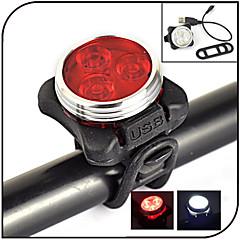 Belysning Cykellys LED 240 lumens Lumens 4.0 Tilstand - Lithium Batteri Vanntett / Genopladelig / Night Vision Cykling Gummi / ABS