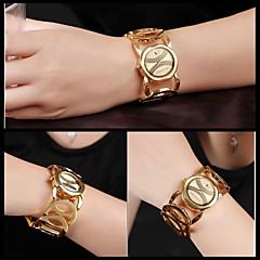 JYY®Brand Ladies' Bracelet Watch Luxury Gold Watches Women Fashion Quartz Wrist Watch with Date Display Dress Jewelry