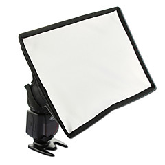 sidande 15x17cm bærbar fotografering mini flash diffuser softbox kit canon nikon samsung dslr Speedlite-blitser