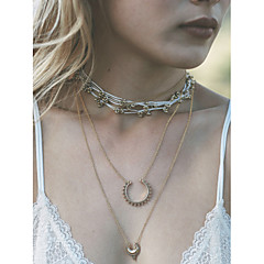 Dames Hangertjes ketting Legering Bloemvorm Zonnebloem Eenvoudige Stijl Zilver Gouden Sieraden Feest Dagelijks Causaal 1 stuks