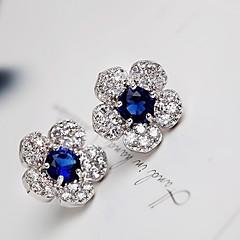 Damskie Kolczyki na sztyft Kolczyki wiszące Modny Europejski biżuteria kostiumowa Cyrkonia Powłoka platynowa Stop Biżuteria Na