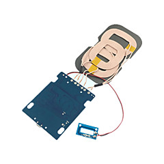 DIY 10W 3-Coils Qi Standard Wireless Charging Transmitter Module for Samsung Galaxy S6 S7 and Others Qi Standard Phone
