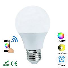 4W E26/E27 Oświetlenie dekoracyjne B 1 COB 300-3600 lm RGB Bluetooth AC 100-240 V 1 sztuka