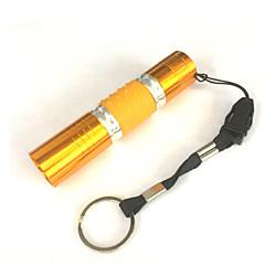 LED손전등 LED 1 모드 100 루멘 방수 / 작은 사이즈 / 나이트 비젼 LED AA 캠핑/등산/동굴탐험 / 일상용-기타,골드 알루미늄 합금