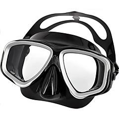 PVC Material Diving Mask for Diving/Swimming Black
