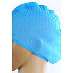 Unisex Silicone Material Swim Caps for Swimming and Diving(Assorted Colors)