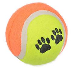 강아지 장난감 반려동물 장난감 볼 테니스공 랜덤 색상 고무