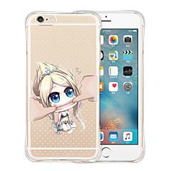 io non sono la tua bambola morbido silicone trasparente posteriore del iPhone 5 / 5s (colori assortiti)