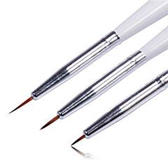 3st färgad spik penna som nagel konst verktyg ritning