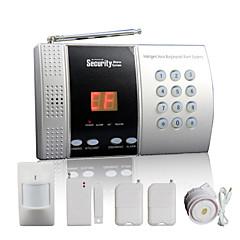 trådløse hjemmenetværk alarm panel med 68 zone + intelligent dørklokke funktion