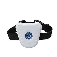 impermeabile ad ultrasuoni di controllo della corteccia del cane collare dell'animale domestico dispositivo di addestramento al sicuro controllo della