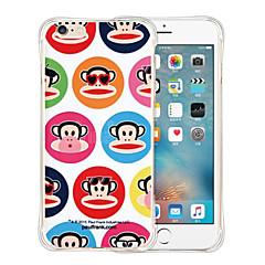 gorilla blød gennemsigtig silikone Tilbage Case for iPhone 6 / 6s (assorterede farver)