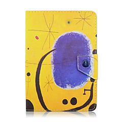 Universal 7 Inch Tablet PC Graffiti Pattern Leather Case Magnetic Smart Case Anti-Dust
