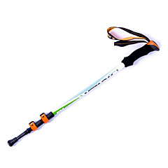 KORAMAN Unisex Trekking Pole Three Section Ultralight Carbon Fiber Easy Lock Hiking Walking