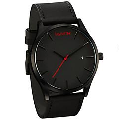 mvmt ساعات الكوارتز الرجال الرياضة الساعات يظهر الساعات ذكر للحزام من الجلد الذكور relojes مدار الساعة MONTRES البشر