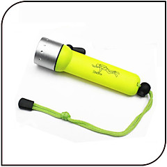 Lights LED Flashlights/Torch LED 1000 Lumens 3 Mode LED 18650 Waterproof / Small Size Everyday Use / Diving/Boating / Water Sports