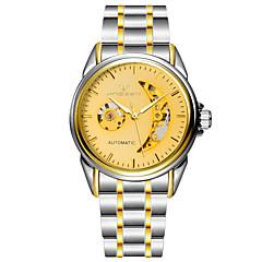 Men's Watch Double Hollow Half 50 Meters Waterproof Strip Automatic Mechanical Watches Wrist Watch Cool Watch Unique Watch