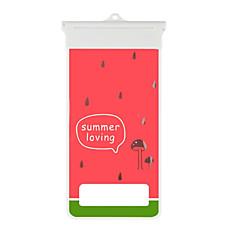 cartoon rode watermeloen patroon mobiele telefoon waterdichte tas voor de iPhone 7 6s 6 plus