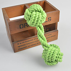 개 반려동물 장난감 씹는 장난감 / 인터렉티브 Rope 멀티컬러 직물