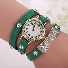 Xu™ Ladies' Fashion Bowknot Diamonds Bracelet Quartz Watch Cool Watches Unique Watches