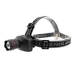 Otsalamput LED 3 Tila 800 LumeniaSäädettävä fokus / Vedenkestävä / Iskunkestävä / Taktinen / Hätä / Pienikokoiset / Erityiskevyet / High