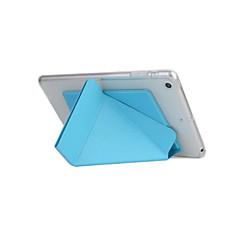 Smart Cover voor Apple iPad 6 transformator slimme geval voor de iPad mini 3/2/1 TPU lederen tas met standaard functie neer