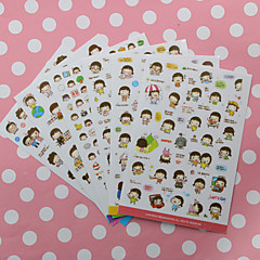 1PC Momoi Girl  Diy Stickers For Album Mobile Phone Diary Scrapbooking Decoration(Style random)