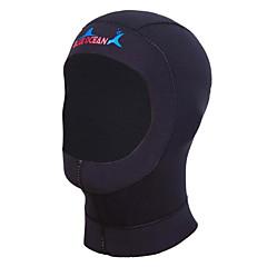 Hoodie / Diving Hoods 1mm Diving Hoods Unisex For Swimming / Diving Waterproof / Ultraviolet Resistant / Wearable / Anti-skidding BlackS