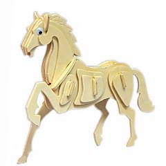 말의 나무 3D 퍼즐 DIY 장난감