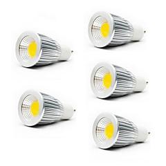 7W GU10 GU5.3(MR16) E26/E27 LED-spotlys MR16 1 COB 550LM lm Varm hvid Kold hvid Vekselstrøm 85-265 V 5 stk.