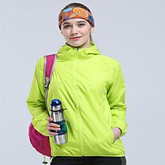 여성용 운동복 윈드브레이커(바람막이) 탑스 캠핑 & 하이킹 수렵 등산 레저 스포츠 크로스-컨츄리 방수 빠른 드라이 방풍 비 방지 먼지 방지 안티 곤충 봄 여름 가을