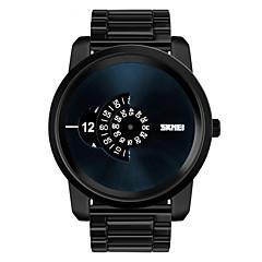 Pánské Náramkové hodinky Unikátní Creative hodinky Křemenný Voděodolné Slitina Kapela Černá Stříbro Zlatá Černá Stříbrná Zlatá