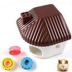 muovi lemmikkieläinten hamsterin asukkaiden makuuhuoneen pieneläinten hamsteri hiekka kylpyhuone hamsterin häkki