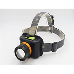 Pyöräilyvalot LED 3 Tila 1200 Lumenia Vedenkestävä / ladattava / Zoomable Cree T6 USBTelttailu/Retkely/Luolailu / Päivittäiskäyttöön /