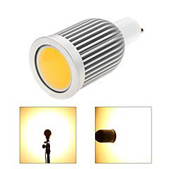 7W GU10 Focos LED MR16 1 COB 850 lm Blanco Cálido / Blanco Fresco Regulable AC 100-240 / AC 110-130 V 1 pieza