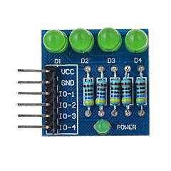 4p portato diodo PWM dimming modulo luce verde - blu adatto per Arduino ricerca scientifica