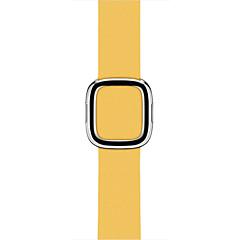 Horloge band voor appelhorloge 38mm 42mm moderne gesp rechte lederen vervanging band riem