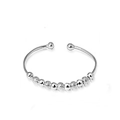Sterling Silver Bracelet Cuff Bracelets Wedding/Party/Daily