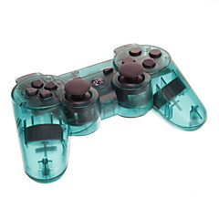 Transparent Wireless Bluetooth DualShock3 Sixaxis oppladbart Controller joypad for PS3