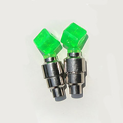 Luci frontali da cappello / luci della rotella / Luci per tappo della valvola LED - Ciclismo Facile da portare AG10 50LM Lumens Batteria